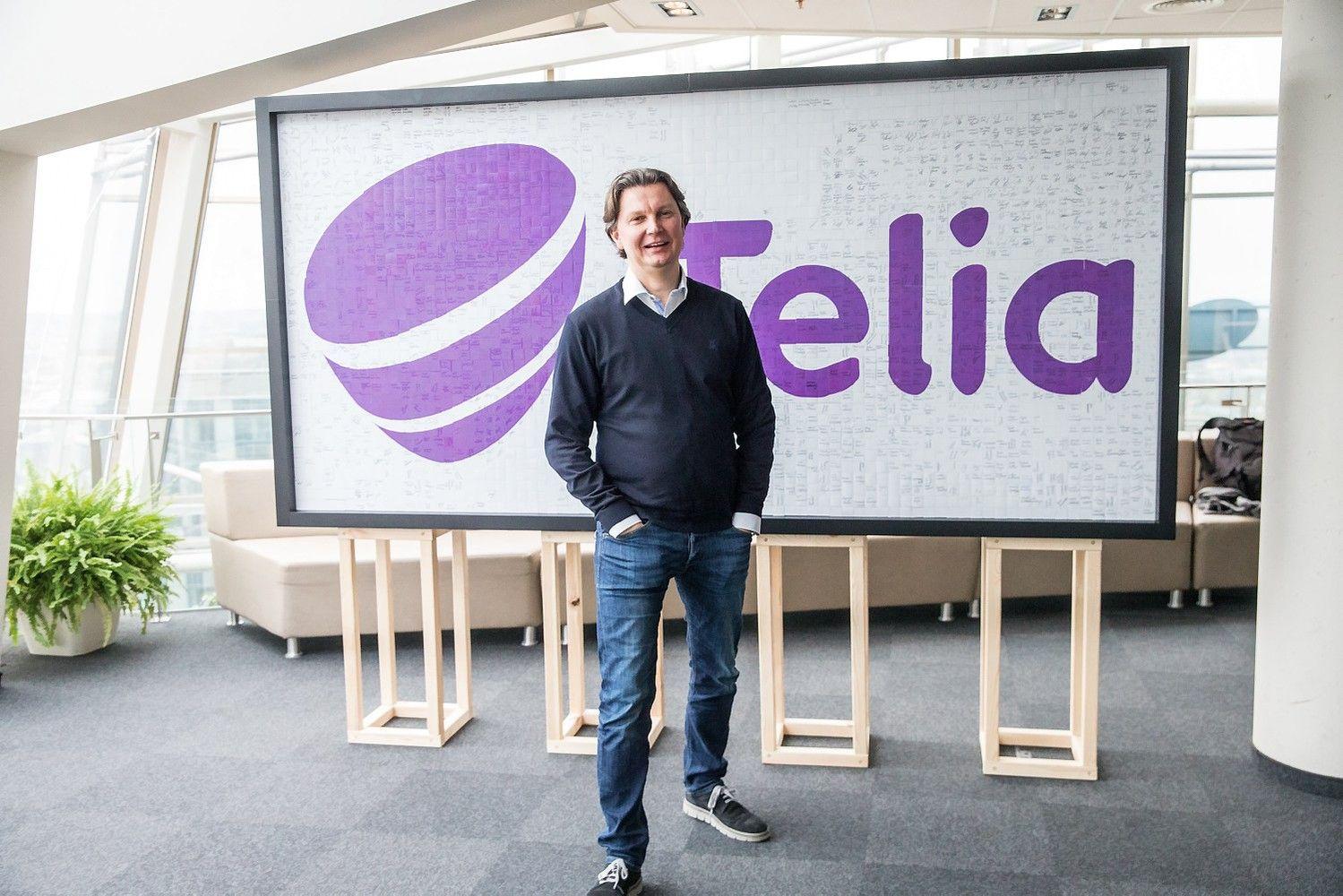 """Telia"" imasi globoti startuolius"