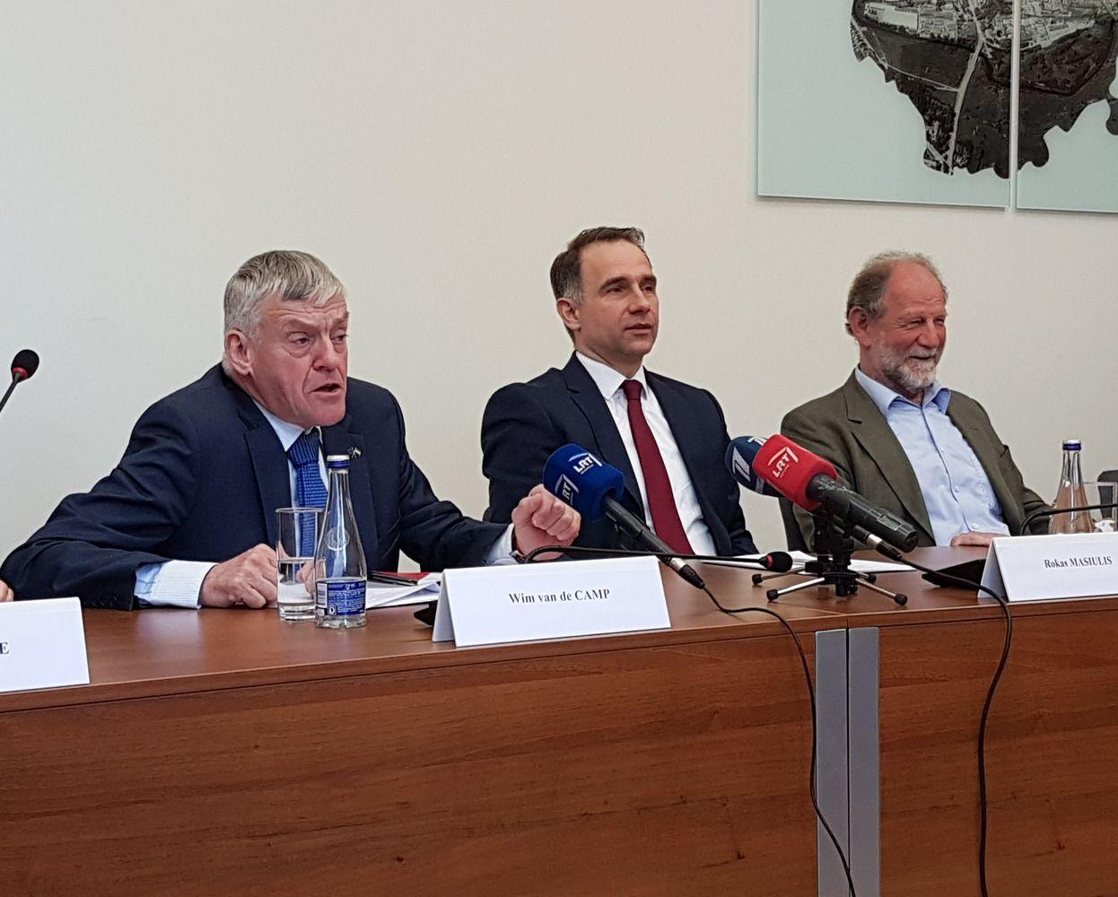"""Baltijos šalys turi stengtis spręsti nesutarimus dėl """"Rail Balticos"""""""