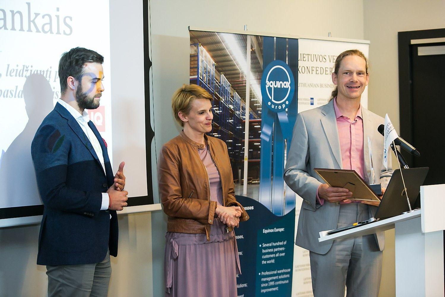 """""""Metų paslaugoje 2017"""" triumfavo įmonė iš Estijos"""