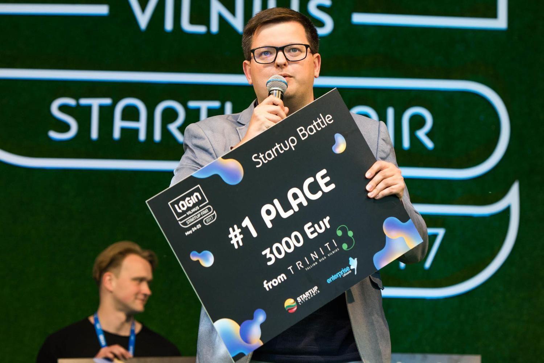"""Moterų pagalbininkas""""Veleza"""" – """"Login Startup Fair"""" konkurso nugalėtojas"""