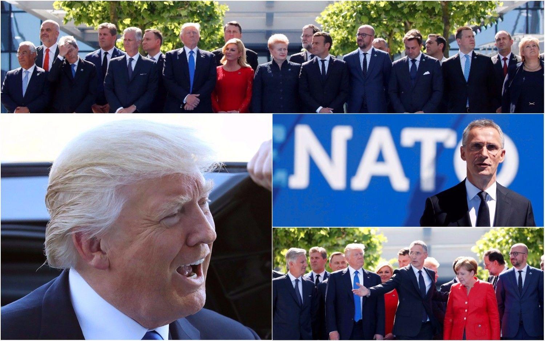 Trumpo akistata su ES ir NATO politikais: bedramos, bet su takoskyra