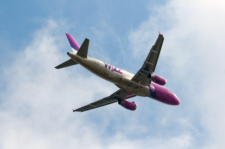 """""""Wizz Air"""" užfiksavo rekordinį pelną"""