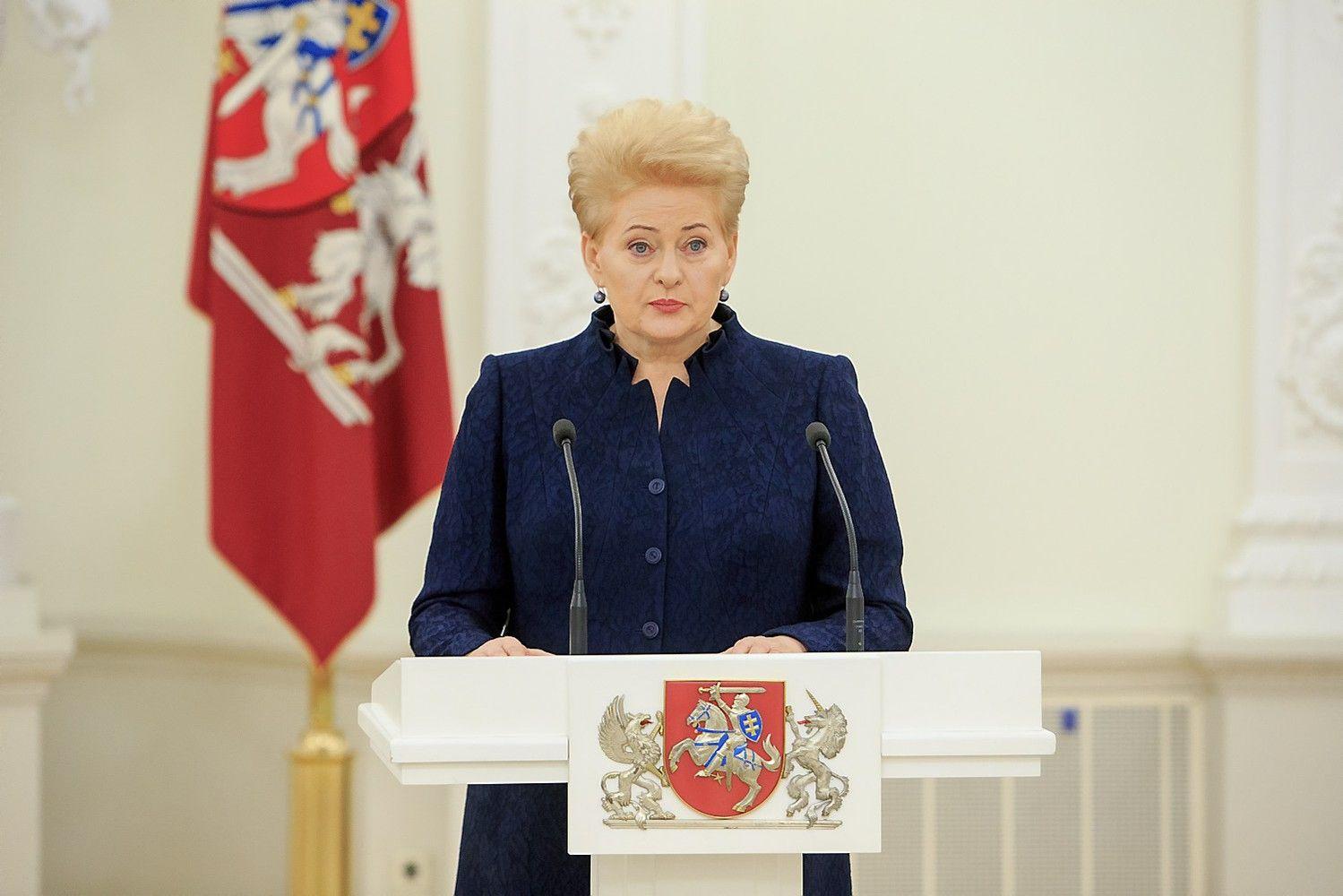 Grybauskaitė: Lietuva didins savo įnašą kovoje su terorizmu