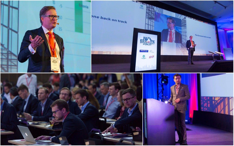 """NT profesionalai susirinko""""Baltijos nekilnojamojo turto investicijų forume"""""""