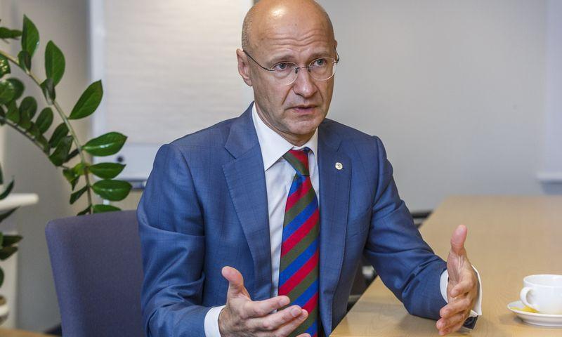 Gintautas Bartkus, advokatų kontoros TGS Baltic partneris, Vilniaus universiteto dėstytojas. Vladimiro Ivanovo (VŽ) nuotr.