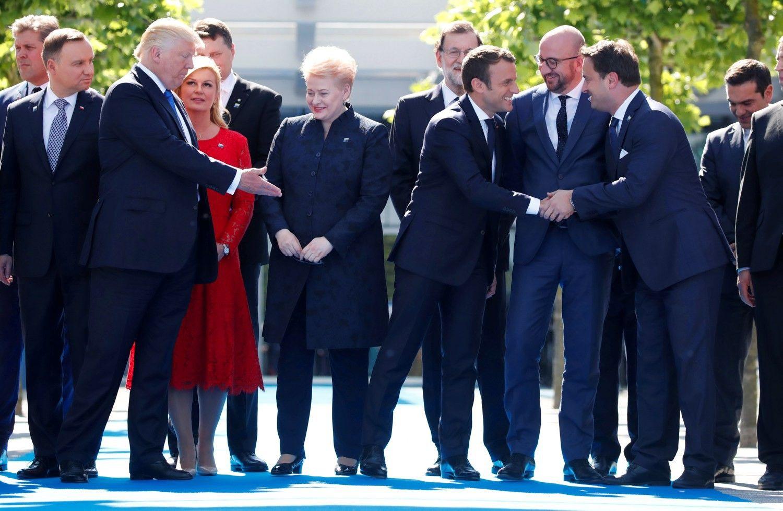 Grybauskaitė: NATO turi būti greitas ir pasirengęs