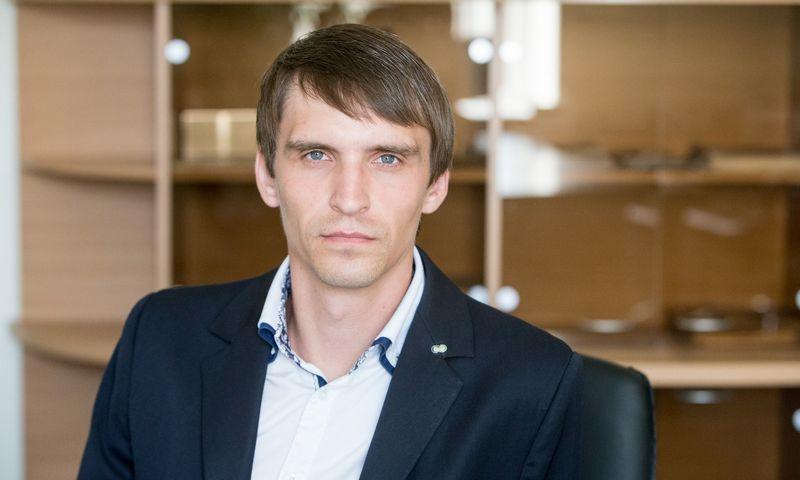 """Mantvydas Štareika, """"Coface"""" Baltijos šalyse vadovas. Juditos Grigelytės (VŽ) nuotr."""