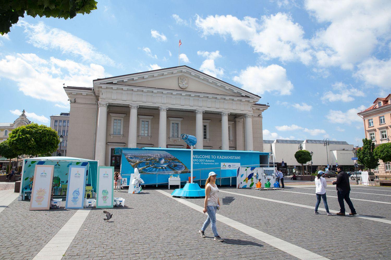 """Expo 2017"" paviljonas pristatytas Vilniuje"