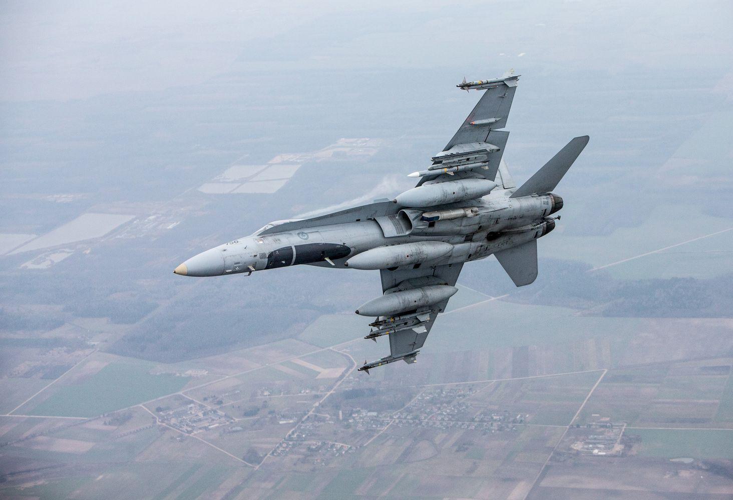 Rusai privertė6 kartus kelti NATOnaikintuvus virš Baltijos