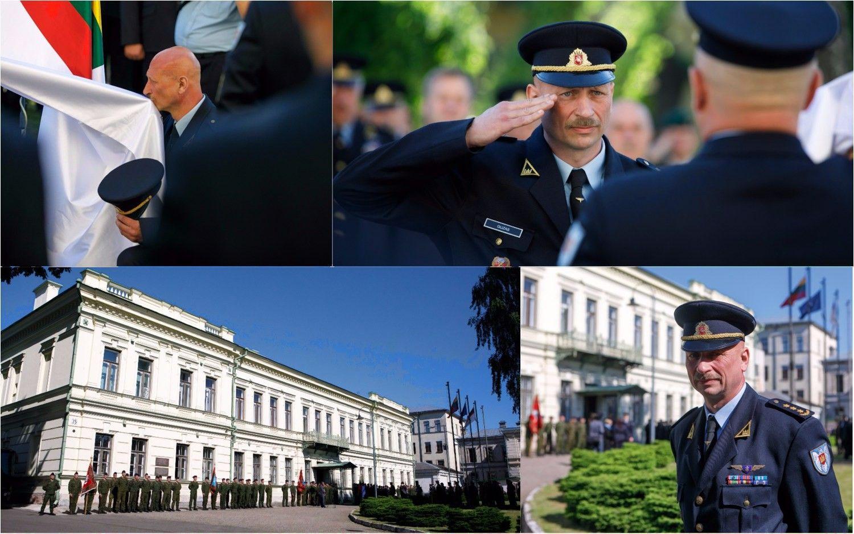 Karinių oro pajėgų naujas vadas pradėjo eiti pareigas