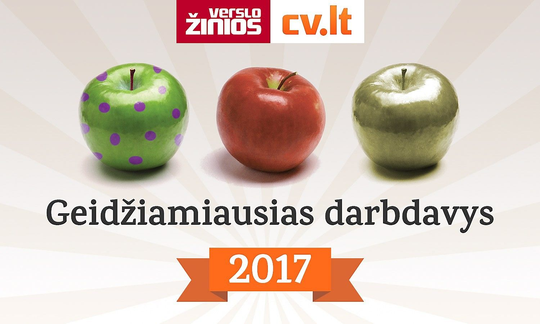 """""""Geidžiamiausias darbdavys 2017"""": liko 16 dalyvių"""