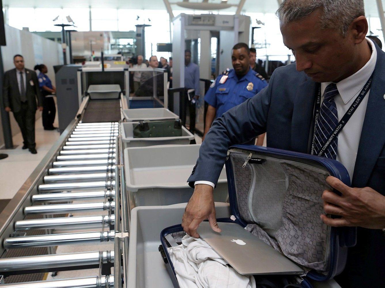 JAV nedraus nešiojamų kompiuterių atskrendantiems iš ES