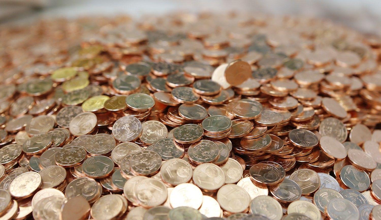 Italija atsisakys 1 ir 2 euro centų monetų