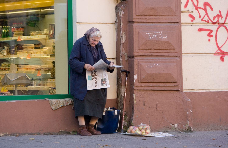 Pensijas Lietuvoje gauna beveik 1 mln. gyventojų