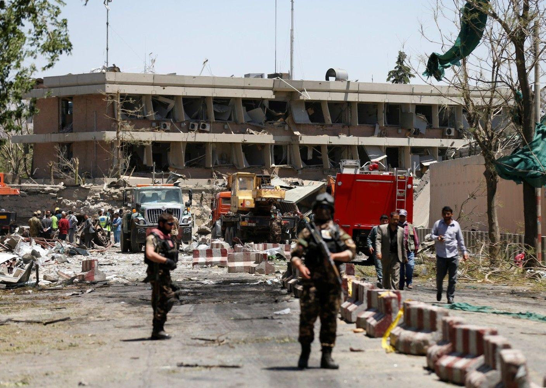 Sprogdinimo Kabule aukų skaičus sparčiai auga, tarp nukentėjusių – užsienio ambasadų darbuotojai