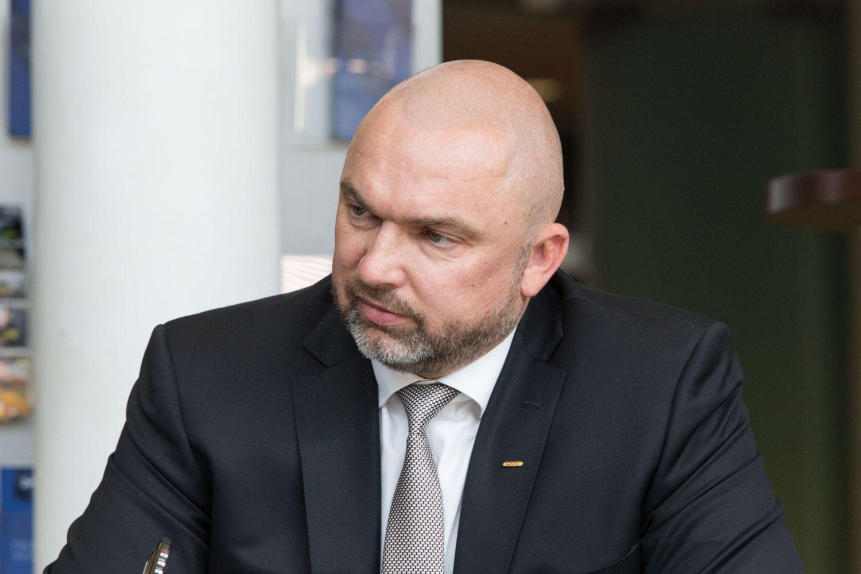 """""""Kesko Senukų"""" prezidentas A. Rakauskas – apie verslo plėtrą, darbuotojų trūkumą, valdžios politiką"""