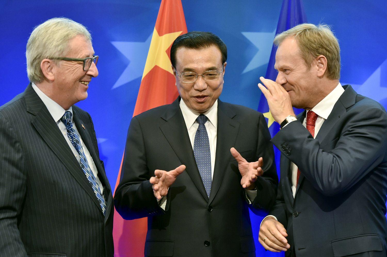 ES ir Kinijaruošia atsaką Trumpo grasinimams dėl prekybos ir klimato kaitos