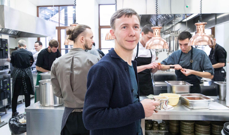 Virtuvės meistras D. Praspaliauskas imasi naujos veiklos