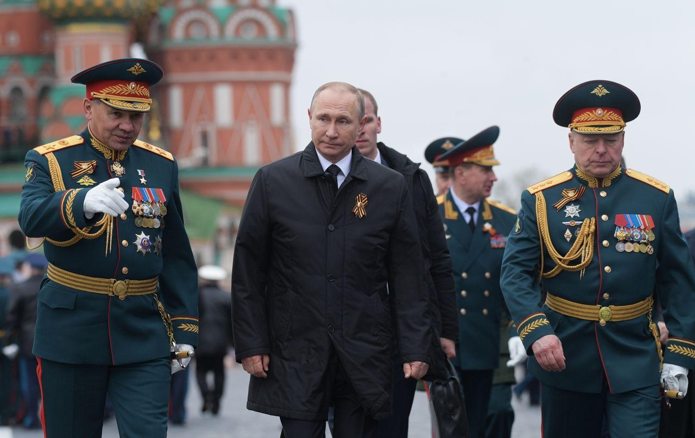 Rusijos prezidentas: jei NATO žlugtų, mums būtų geriau