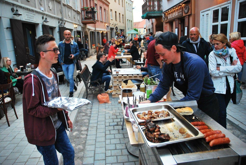Kaip gatvės remontas sostinėje paskatino kūrybiškumą: skaičiuoja naudą