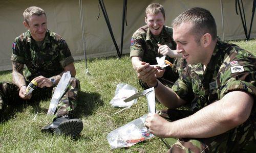 Kaip kariuomenė prisideda prie visuomenės mitybos įpročių