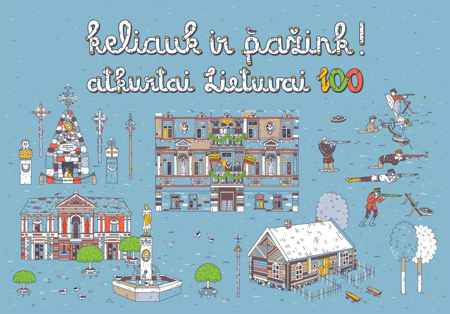 Lietuvos valstybės atkūrimo šimtmečiui – specialus turistinis maršrutas