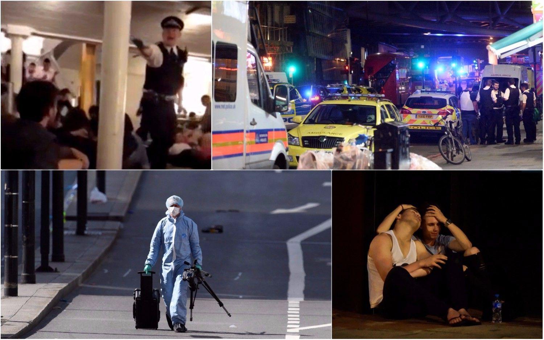 Per išpuolius Londone žuvo7 žmonės,3 užpuolikai nušauti
