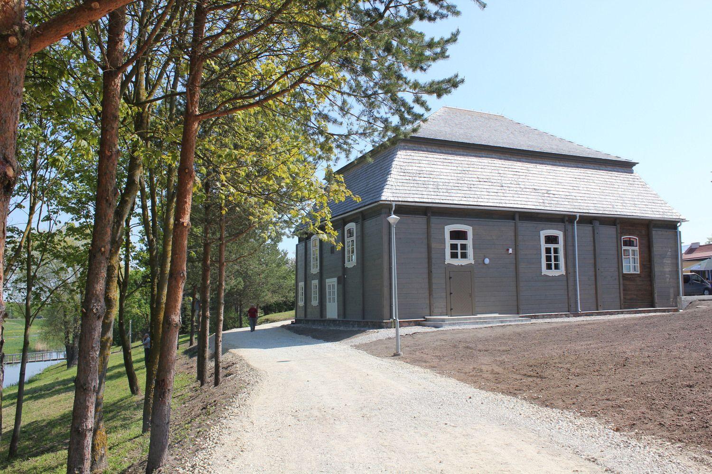 Restauruota seniausia Lietuvoje sinagoga