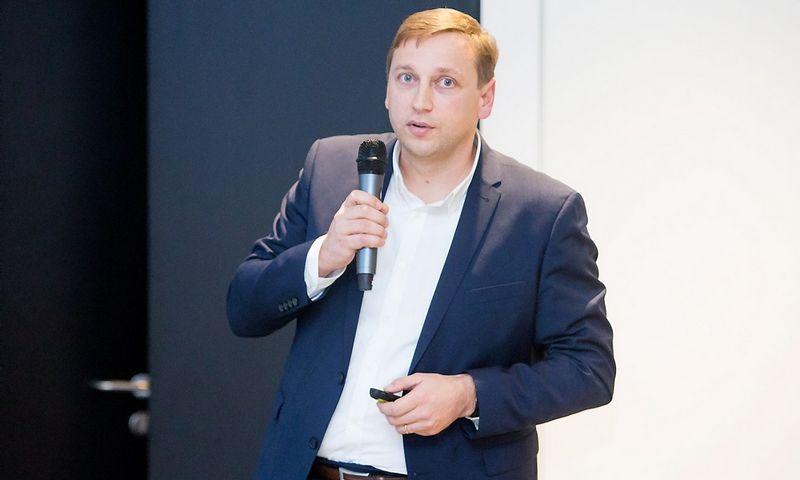 """Evaldas Remeikis, """"Paskolų klubo"""" valdybos pirmininkas. Juditos Grigelytės (VŽ) nuotr."""