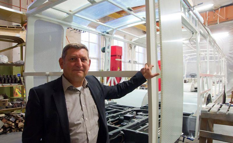 """Alvydas Naujėkas, bendrovių """"Vėjų spektras"""" ir """"Vėjo projektai"""" vadovas, sako, kad verslo sėkmės formulė paprasta. Algimanto Kalvaičio nuotr."""