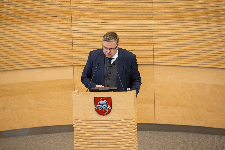 Vasiliauskas: valstybinis bankas galimas, bet jam – jokių lengvatų