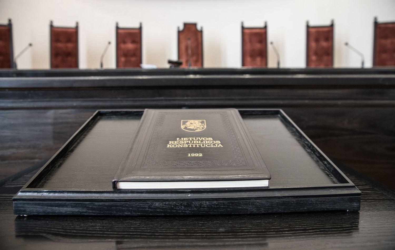 Individualų konstitucinį skundą žadama įteisinti nuo 2019-ųjų
