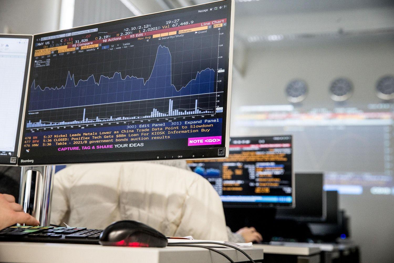 """ĮvertinoECB atsargumą ir """"Grindeks"""" dividendus"""
