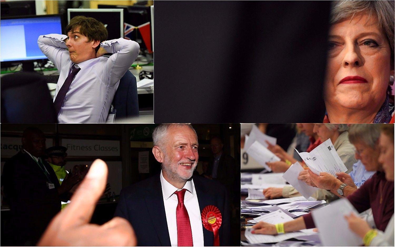 JK rinkimų rezultatai: May neteko daugumos, didėja spaudimas atsistatydinti