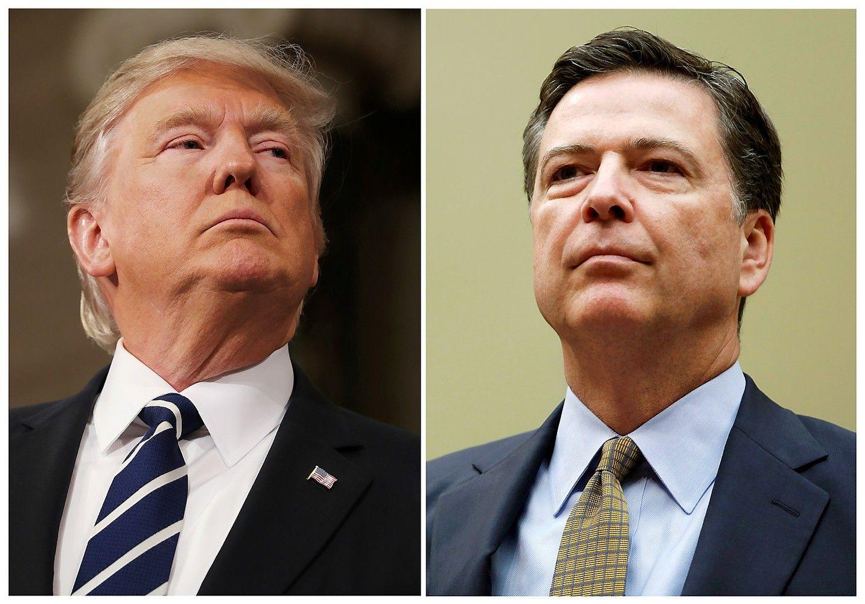 Buvęs FTB vadovas Comey: Trumpas reikalavo ištikimybės