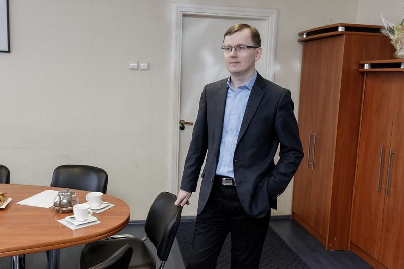 """Darius Stankus, Tauragės savivaldybės tarybos narys: """"Amatininkiškas veiklas reikia skatinti, kad žmonės, turintys gebėjimų, iš jų galėtų užsidirbti."""" Vladimiro ivanovo (VŽ) nuotr."""