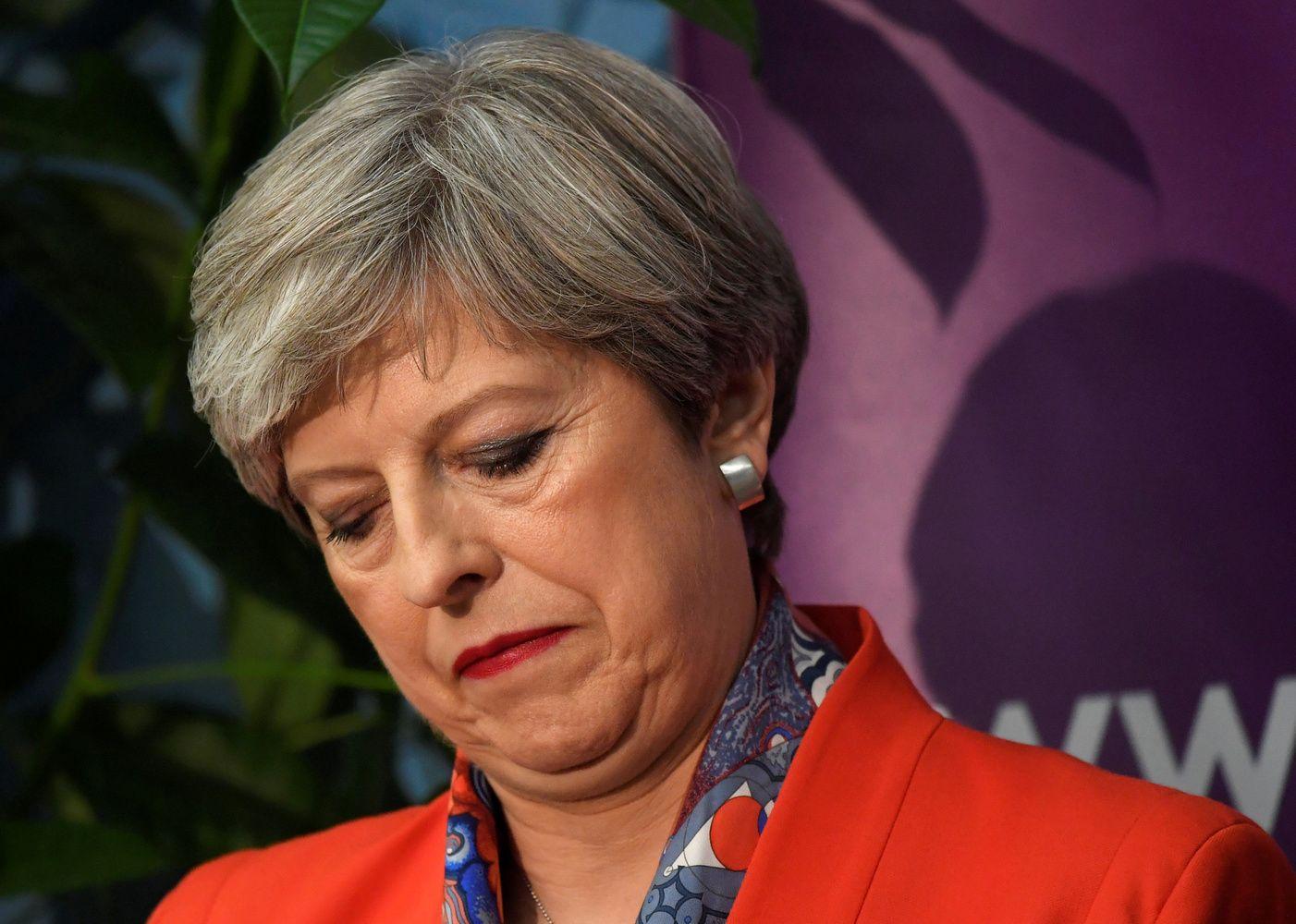 Kodėl pralaimėjo Theresa May