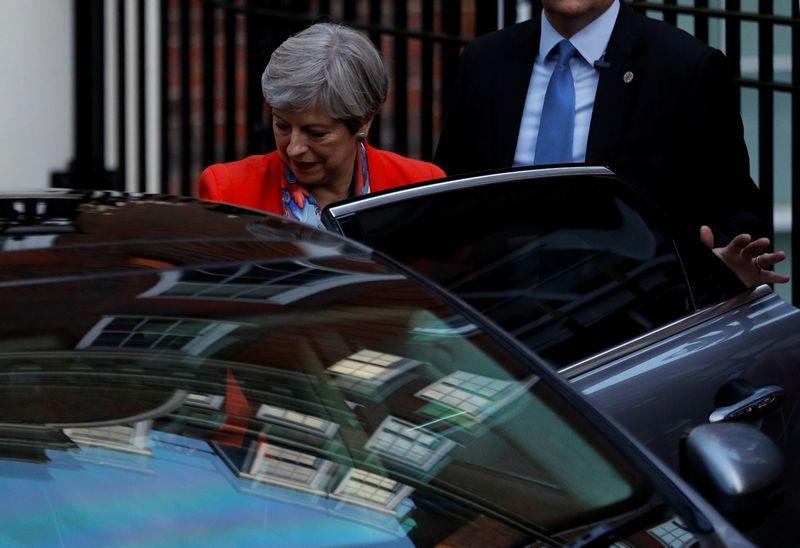 "Theresa May, JK premjerė. Peterio Nichollso (""Reuters""/""Scanpix"") nuotr."