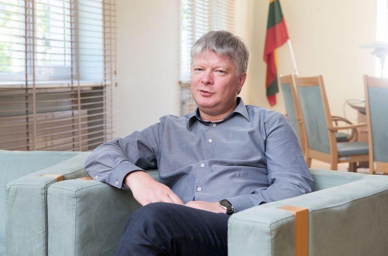 Kęstutis Navickas, aplinkos ministras. Juditos Grygelytės (VŽ) nuotr.