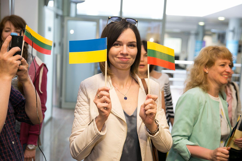 Ukrainos piliečiai į ES gali vykti be vizų