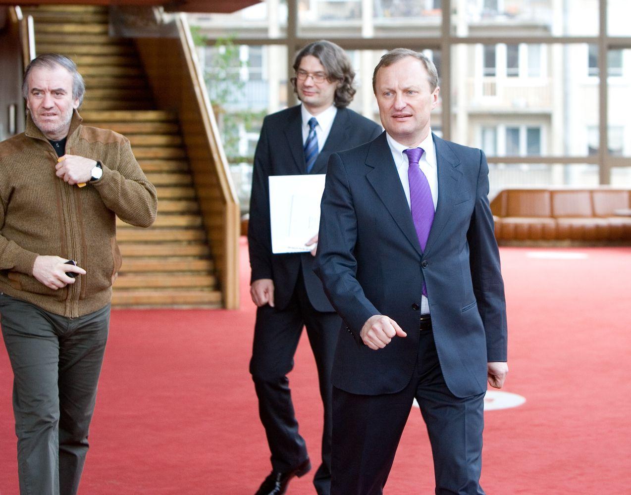 Kultūros ministrė atleidžia LNOBT direktorių Gintautą Kėvišą