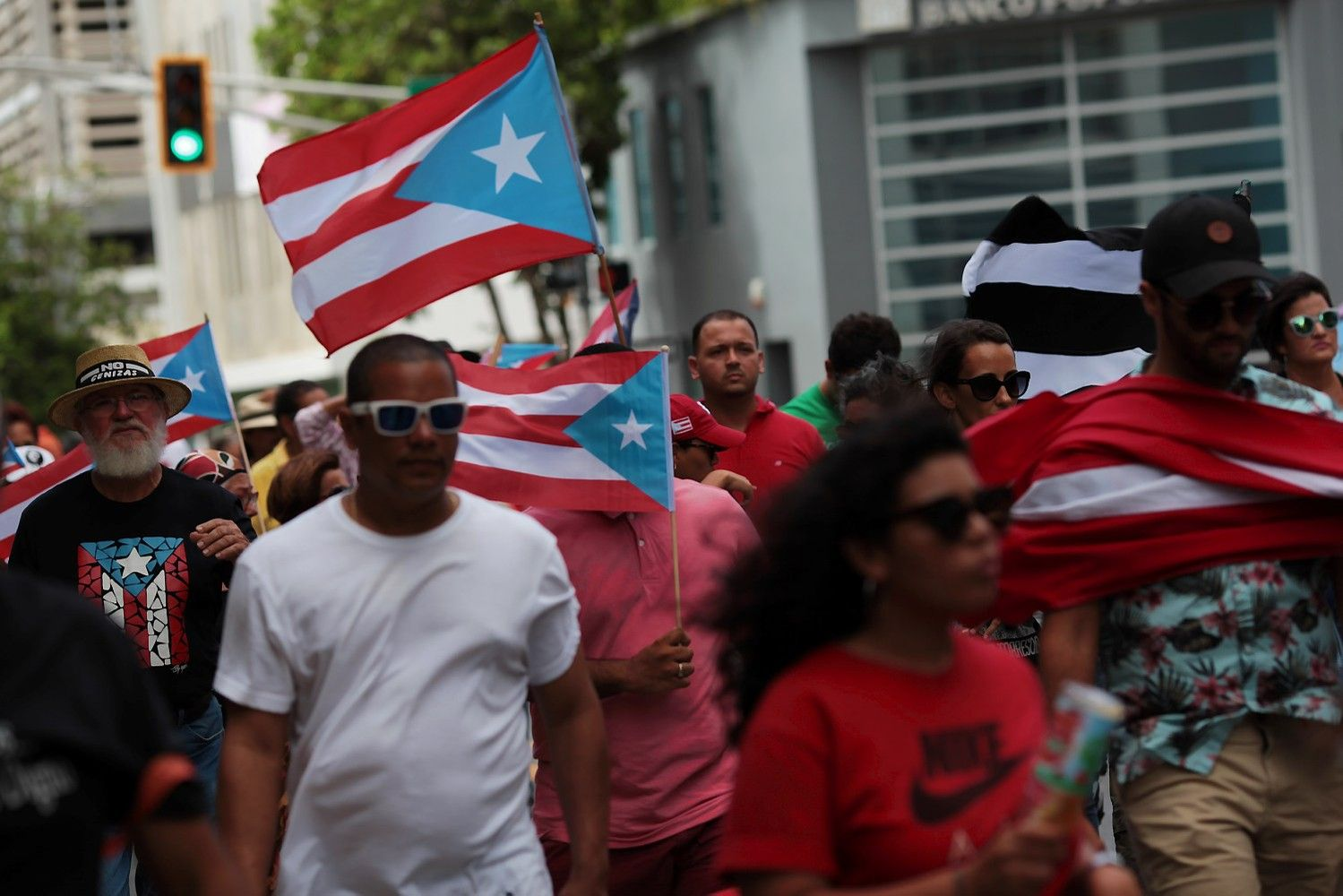 Bankrutuojantis Puerto Rikas balsavo už tapimą 51-ąja JAV valstija