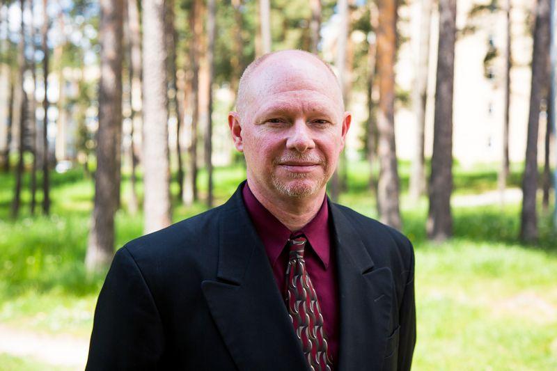 """Matthew Wagneris, JAV Nacionalinio miestų ekonominio gaivinimo centro Ekonominio atkūrimo programų viceprezidentas: """"Jei miestelyje nesinorės gyventi, dirbti ar pramogauti, pasiekti ekonominio augimo bus labai sudėtinga.""""  JAV ambasados Lietuvoje nuotr."""