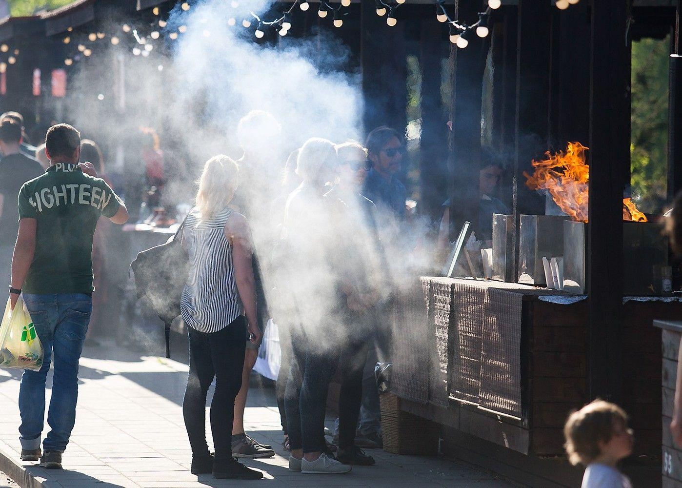 Gatvės valgių puotos iš Vilniaus kraustosi ir į kitus miestus