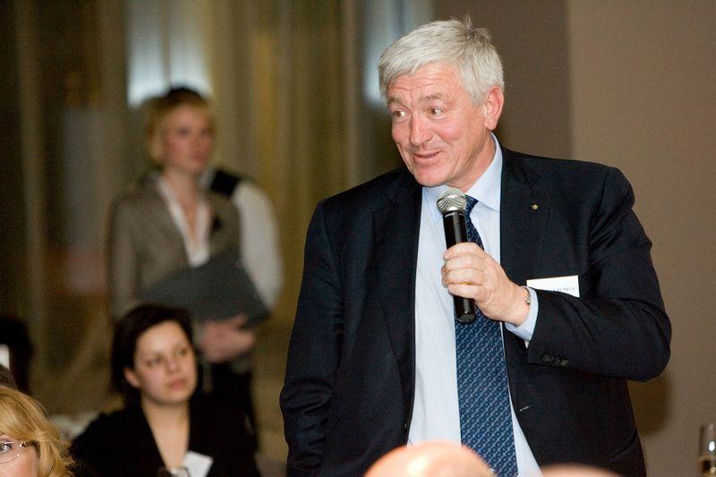 Algirdas Butkus, AB Šiaulių bankas valdybos pirmininkas. Vladimiro Ivanovo (VŽ) nuotr.