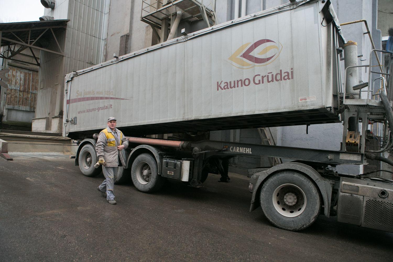 """Kauno grūdams"" – beveik 1 mln. Eur bauda"