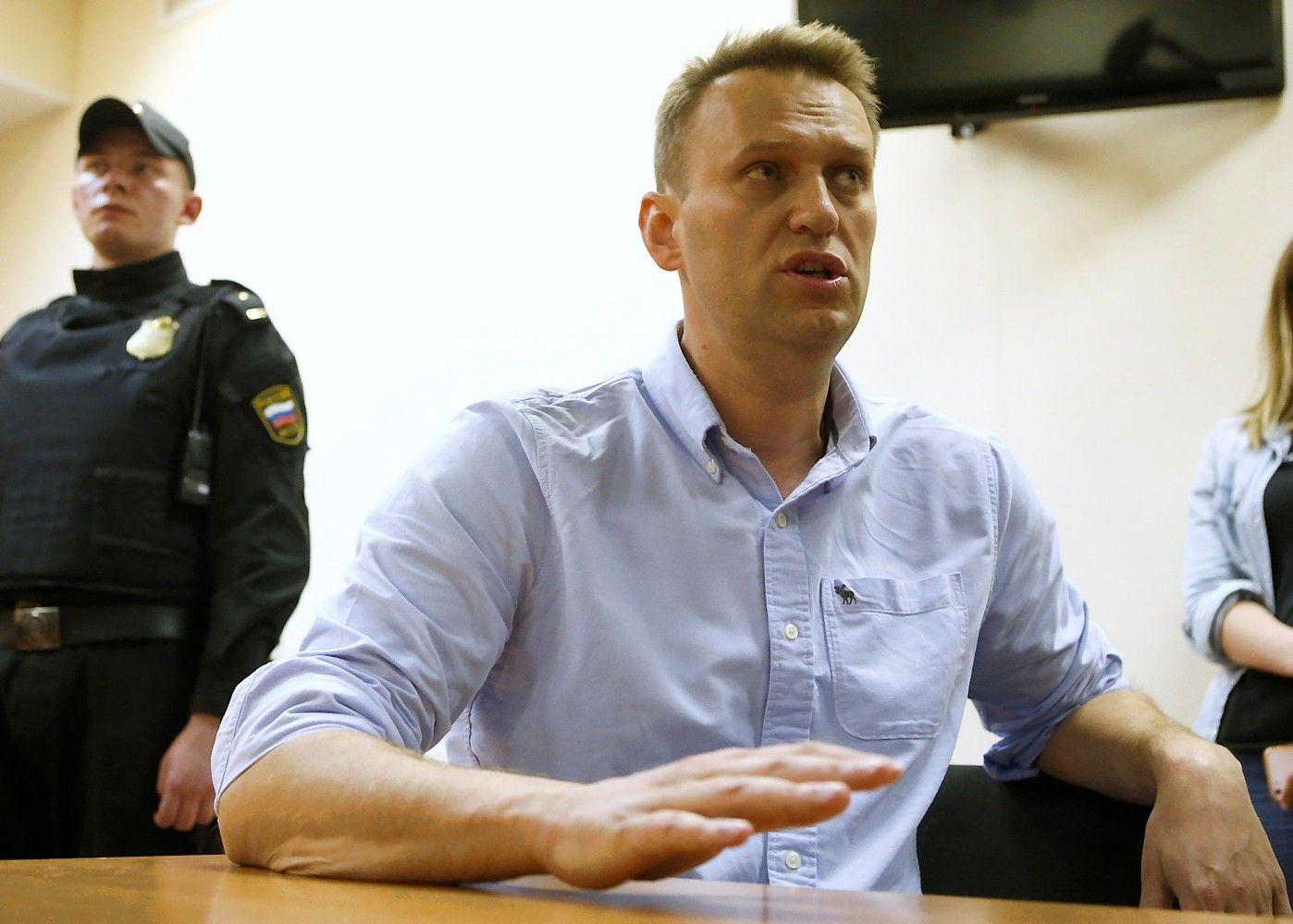 Navalnui teismas skyrė 30 parų