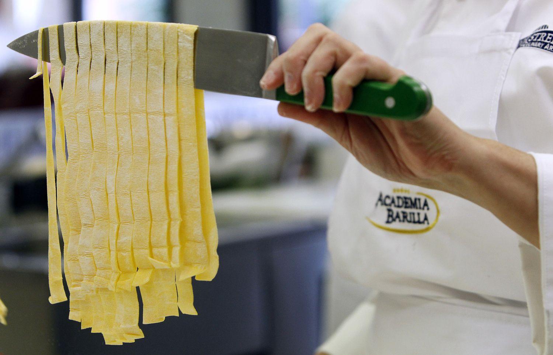 Italų makaronų gamintojų norai šiurpina rinką