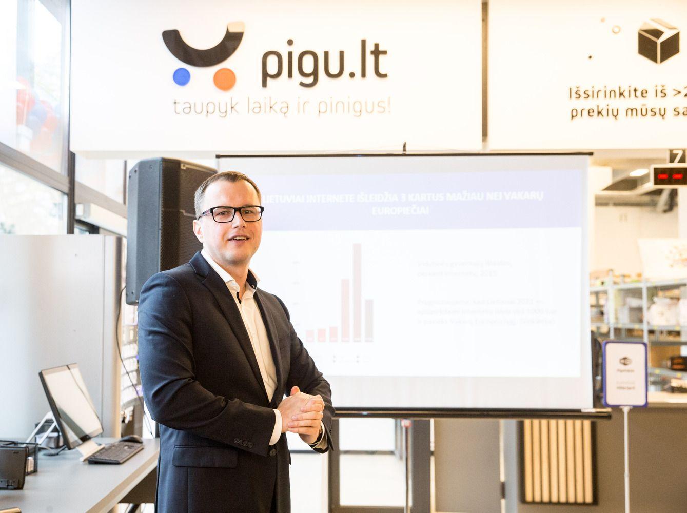 """""""Pigu.lt"""": užsienio e. parduotuvėse perka 16% gyventojų"""
