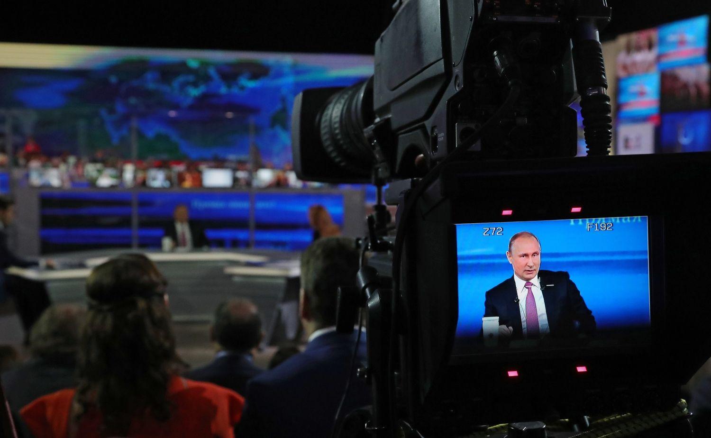 Putinas tiesioginiame eteryje: visa Rusijos istorija paženklinta sankcijų